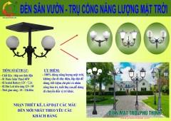 Đèn Sân Vườn NLMT 40 Watt