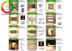 Đèn LED gắn tường